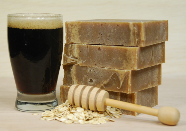 Guinness Honey n Oats Soap